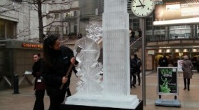 London Ice Sculpting Festival 2013